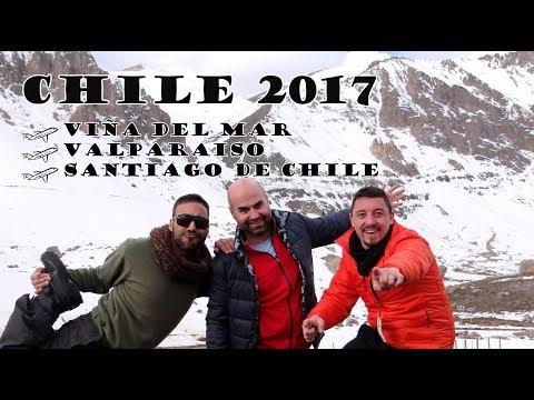 Viña del mar/Valparaíso/Santiago de Chile - Sebastian Vallone - Julio 2017 - Gopro Hero 4