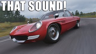 PURE ROTARY SOUND WITH THE NEW MAZDA COSMO ON FORZA HORIZON 4
