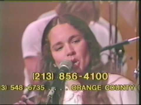 Nicolette Larson performs two songs on the 1982 National Easter Seal Telethon music
