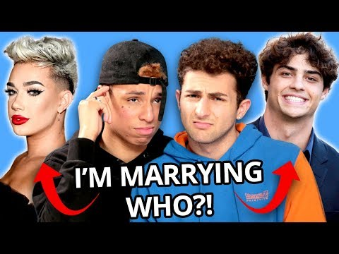Larray and Twaimz Reveal Their Future Celebrity Husbands! | VS