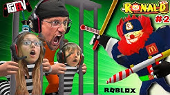 ROBLOX RONALD the COP!!  Jailbreak from Clown Prison! (FGTeeV Escapes Chapter 2)