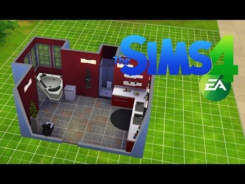 les sims 4 construction d 39 une salle de bain moderne. Black Bedroom Furniture Sets. Home Design Ideas