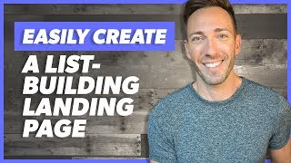 How to Create an Email Opt-In Landing Page in Wordpress & Elementor