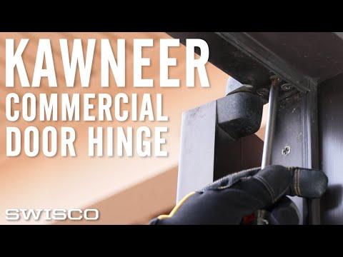 How To Install A Kawneer Commercial Door Pivot