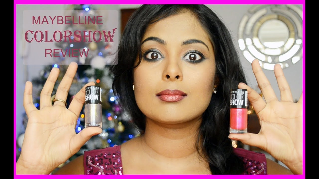 Maybelline ColorShow Nail Polish Review + Giveaway - YouTube