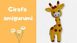Girafa amigurumi🦒 | Coleção Safári | Cabeça articulada | Art da Tha