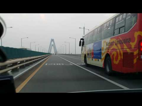 Driving in Korea - Incheon airport to Seooul Part 1