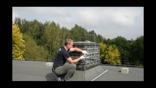 Jak w prosty sposób zamontować maszt antenowy do komina.