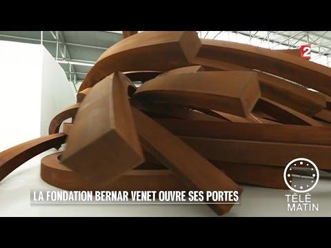 Carré VIP - Bernar Venet nous présente sa fondation - 2016/01/07