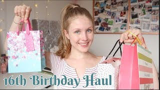WHAT I GOT FOR MY 16TH BIRTHDAY 2018 | ItsEviex