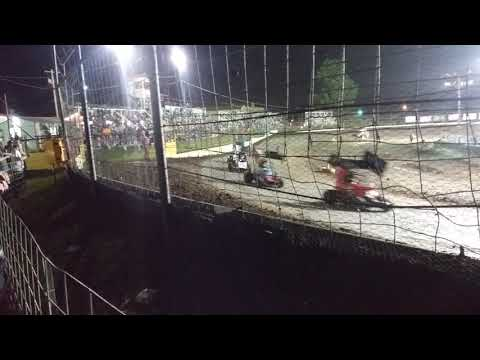 1st night of Spring Fling. - dirt track racing video image