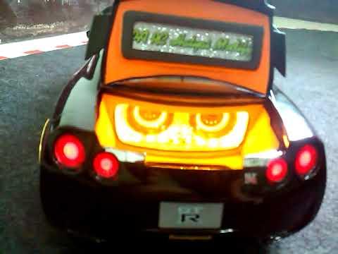 รีวิว รถเก๋ง R 35 สีดำแต่งเครื่องเสียง  (ร้านเป้ RC Hatyai Modify โทร.082-4358636 ช่างเป้)