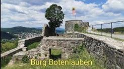 Ruine der Burg Botenlauben bei Bad Kissingen