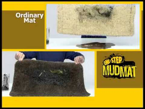 One Step Mud Mat Youtube