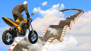 GTA V Online: Desafio dos 5 MINUTOS com moto de pizza!!!