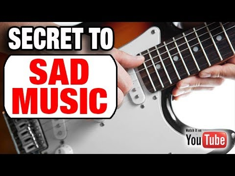 The Chord /Scale Secret to Sad & Emotional Guitar
