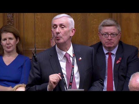انتخاب النائب من حزب العمال المعارض لندسي هويل رئيساً لمجلس العموم البريطاني …  - 22:53-2019 / 11 / 4