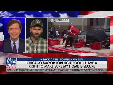 Former Navy Seal Tells Tucker What To Do If You Find Yourself 'Surrounded By A Mob'