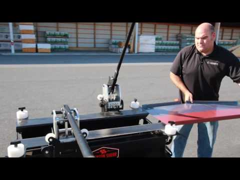 Save Time with the Snap Table Pro - For Standing Seam Panels