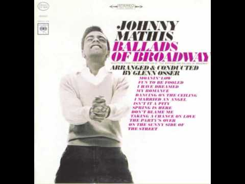 Johnny Mathis - I married an angel