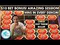 $10 BET BONUS! AMAZE-BALLS SESSION! EVERY DENOM BONUSES! ULTIMATE FIRELINK SLOT MACHINE