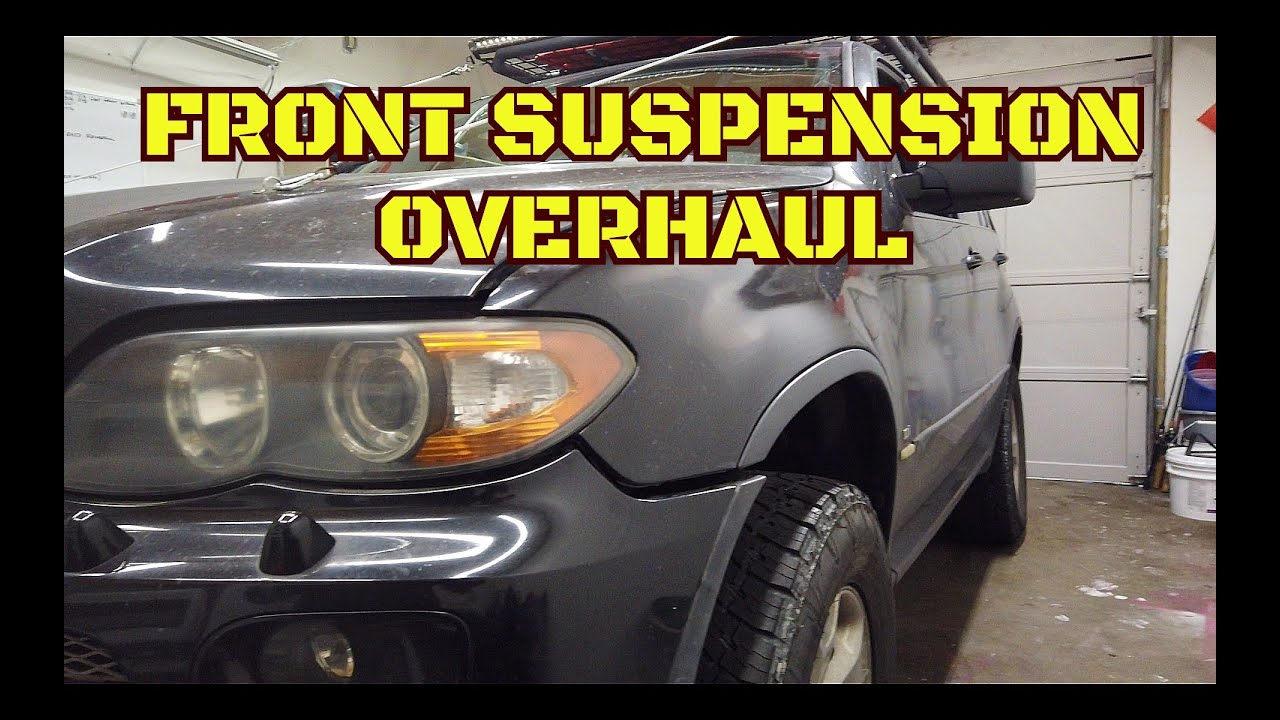 BMW X5 (E53) Front Suspension Refresh (Part 2)