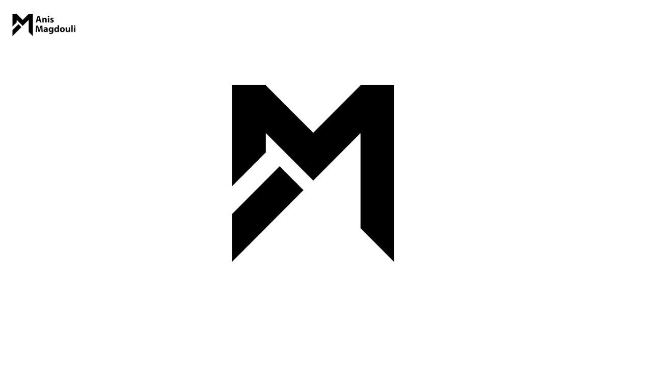M Logo Design Logo Inspiratio...