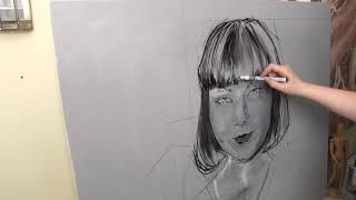 Real Time Portrait Painting: Finding Facial Structure - Isamolle