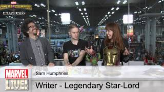Sam Humphries, Writer of Legendary Star-Lord and Marvel Contest of Champions on Marvel LIVE!