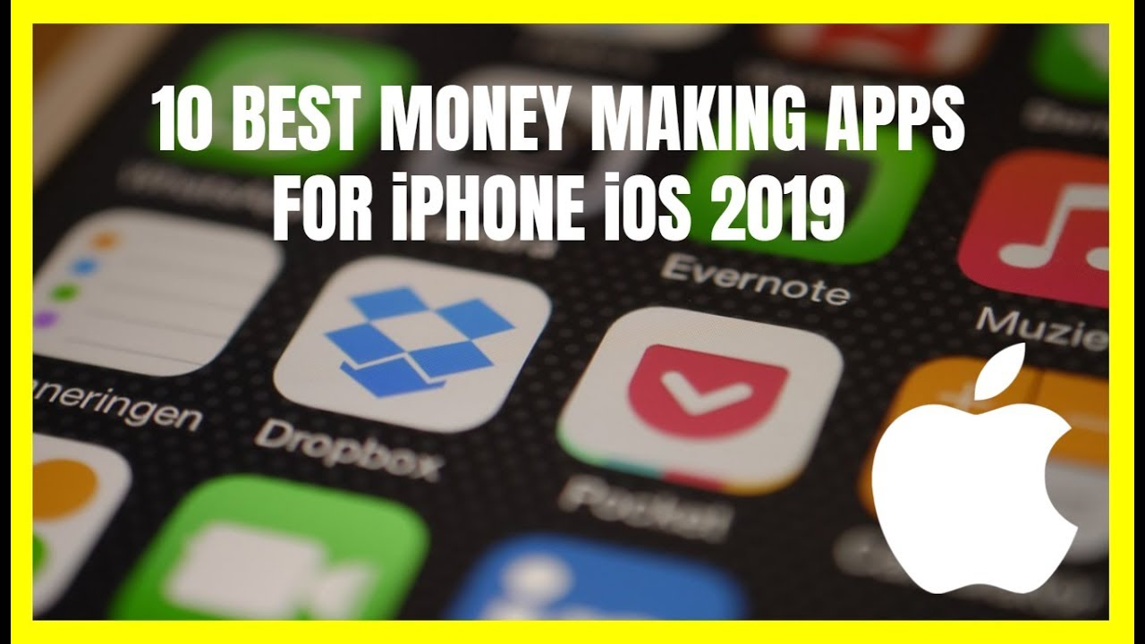 10 Best Money Making Apps for iPhone iOS 2019 - YouTube