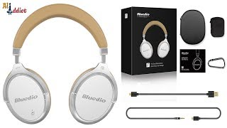 Bluedio F2 ANC Wireless Bluetooth Headset With Microphone Support Headphone Music
