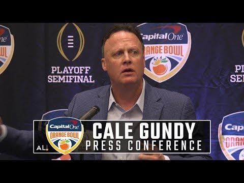 Oklahoma offensive coordinator Cale Gundy on preparing for Alabama
