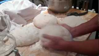 Divide And Conquer...making Chad Robertson's French Country Bread...jewelsinnaples.blogspot.com