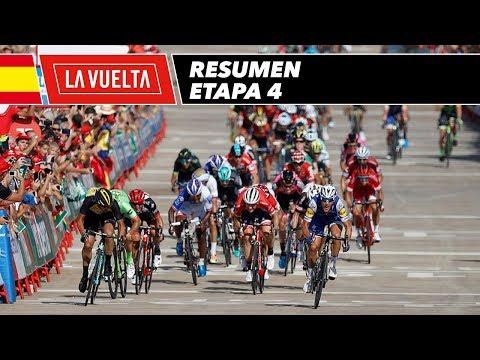 Resumen - Etapa 4 - La Vuelta 2017