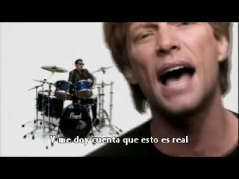 Bon Jovi Real Life (subtitulado)