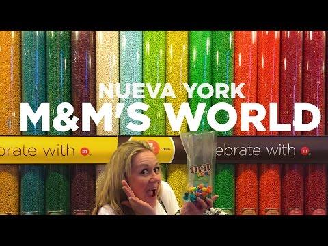 Increíble tienda de M&M en Nueva York