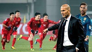 Thầy trò Zidane lên tiếng trước chiến tích của U23 Việt Nam
