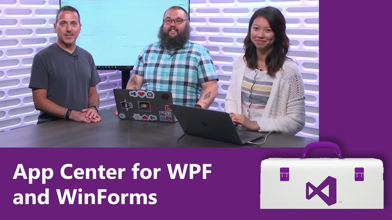 App Center for WPF and WinForms