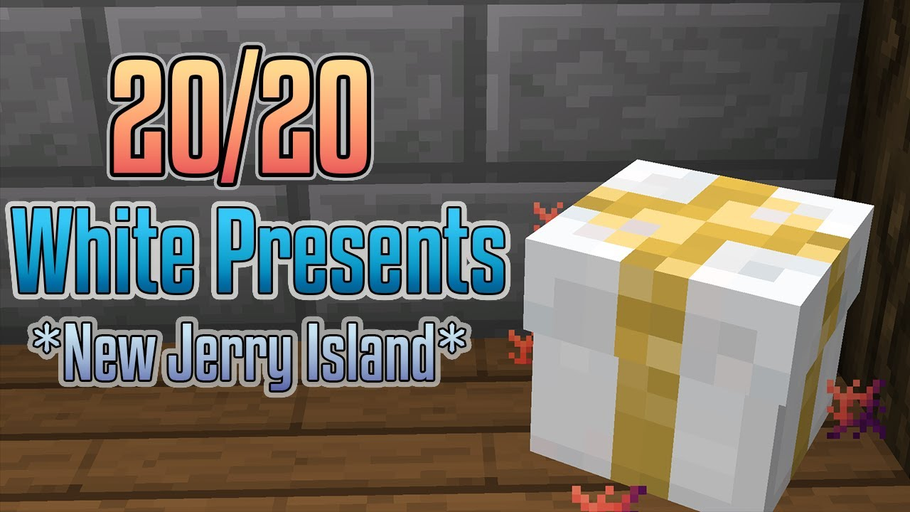 Hypixel Christmas Presents 2020 New* White Present Locations (20/20) (Hypixel Skyblock) (Locations