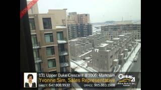 131 Upper Duke Crescent #1006, Markham - Home for Sale by Yvonne Sim, Sales Representative