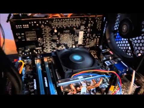 Noise test - AMD FX-8320 Stock Cooler vs Cooler Master Hyper TX3 EVO