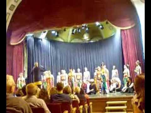 Manado State University Choir in Jerusalem pt. 2 - 2013