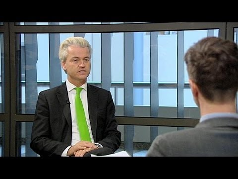 Dutch Eurosceptic on the rise - Geert Wilders interview with euronews