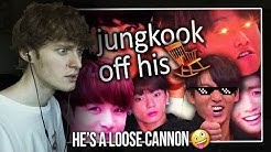 HE'S A LOOSE CANNON! (jungkook lowkey off his rocker | Reaction/Review)