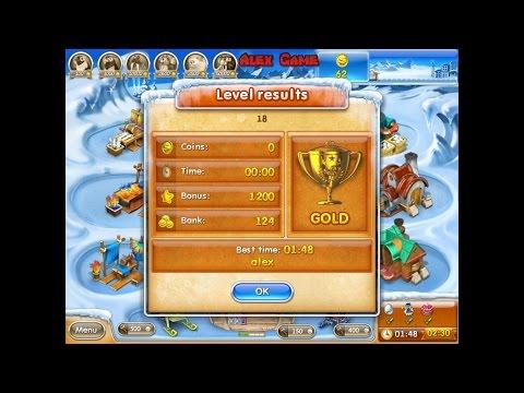 Farm Frenzy 3 Ice Age (level 18) Only GOLD Веселая ферма 3 Ледниковый период (уровень 18) Золото