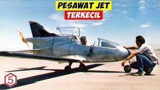 Pesawat Jet Terkecil Di Dunia Dengan Mesin Jet Dan Pilot