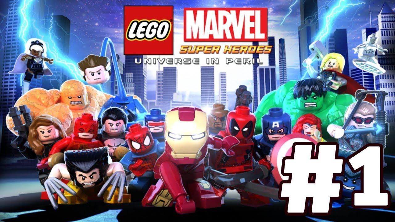 Marvel Lego Super Heroes Baxter Building