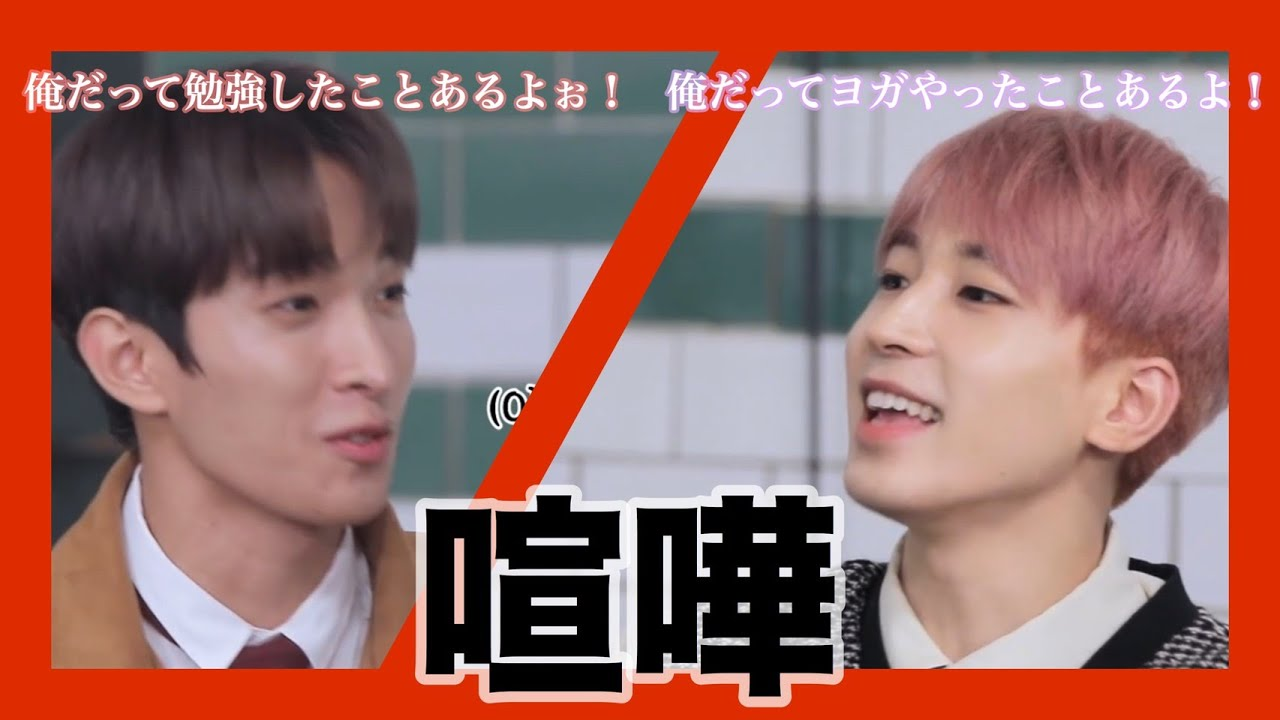 ウォヌとドギョムの兄弟喧嘩【SEVENTEEN/セブチ】