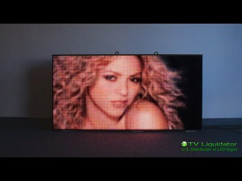 Full Color Video LED Sign