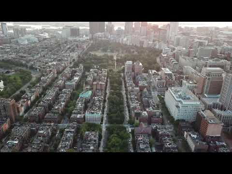 Back Bay Sunrise 4k